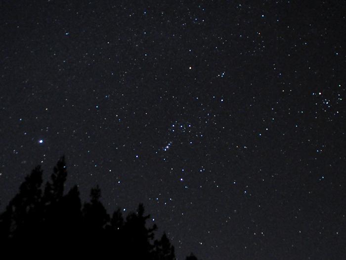 星が綺麗な夜
