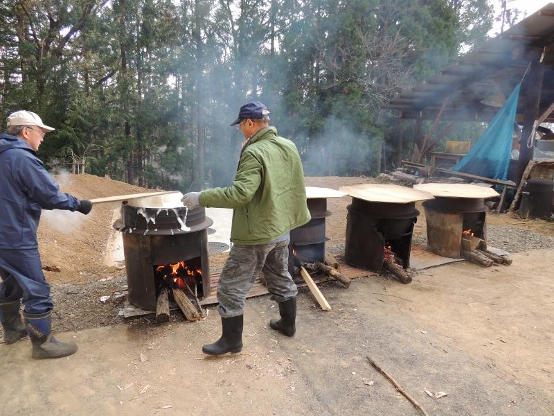 前日の豆煮