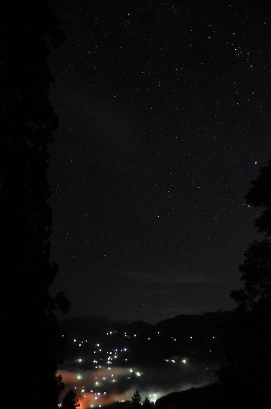 天上の星と地上の星