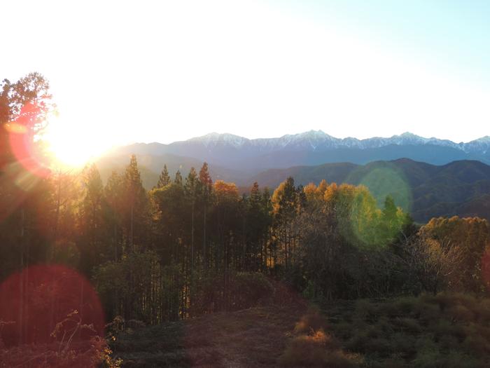 穏やかな秋の小川村