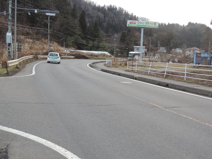 県道、通称オリンピック道路