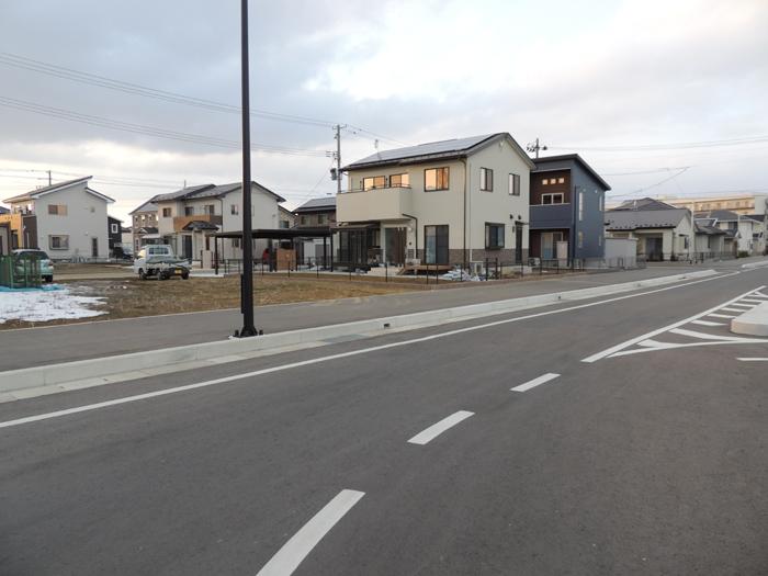 集団移転で日本一の街づくりをめざすあおい地区