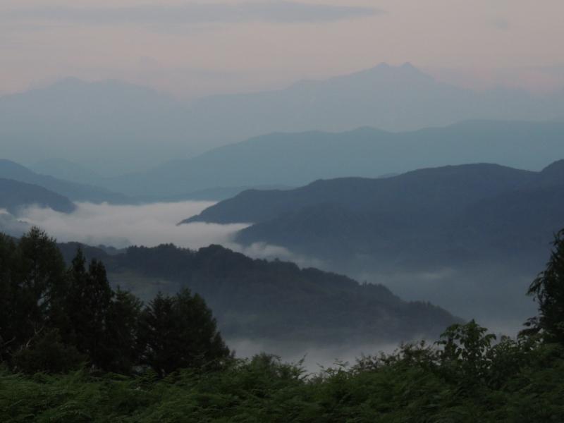 鹿島槍ヶ岳と爺ヶ岳