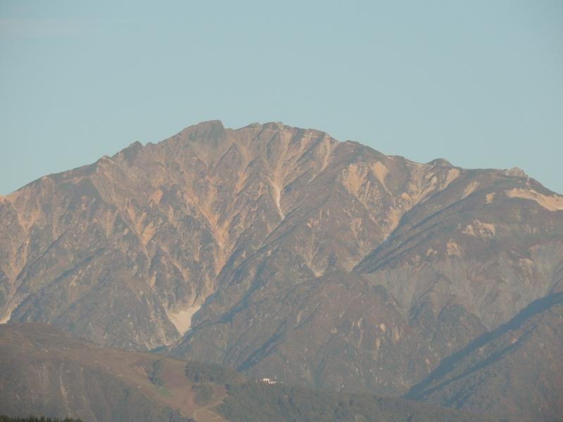 2015年9月30日の唐松岳